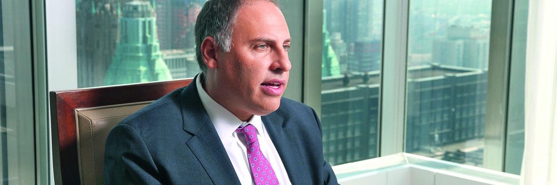 Fondsmanager Michael Schoenhaut in seinem Büro in Manhattan/New York