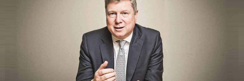 Globaler Vertriebschef von Henderson GI Phil Wagstaff. Auch nach der Fusion mit Janus wird Wagstaff den weltweiten Vertrieb im Unternehmen leiten