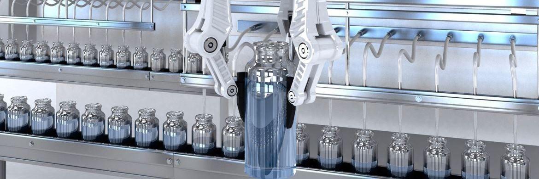 Robotereinsatz an einer Abfüllmaschine. Besonders in Japan und Europa kommen Roboter bereits in vielen Unternehmen zum Einsatz. |© Pictet Asset Management
