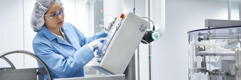 Produktion beim Gesundheitsunternehmen Fresenius Kabi in den USA