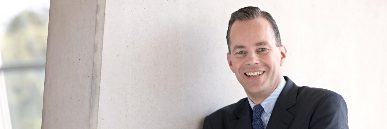 Alexander Leisten, Leiter des Deutschlandgeschäfts von Fidelity International