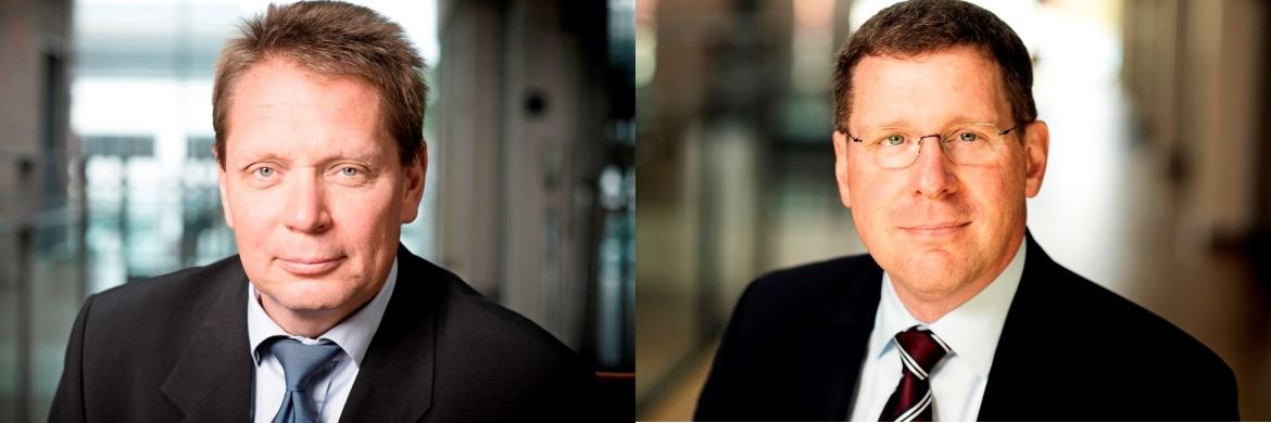 Henning Mortensen (l.), Head of Jyske Capital und Thomas Brand (r.), neuer Senior Relationship Manager bei Jyske Capital