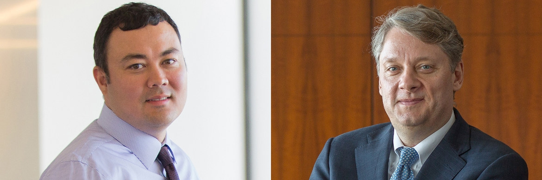 Die Pimco-Fondsmanager Alfred Murata (l.) und Dan Ivascyn