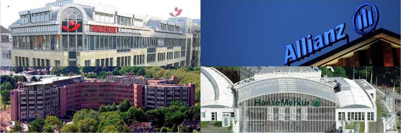 Vier der zehn Versicherungsunternehmen, die von Maklern und Mehrfachagenten im Rahmen der Befragung als beliebteste PKV-Anbieter genannt wurden