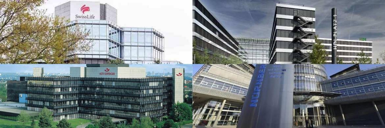 Vier der zehn Versicherungsunternehmen, die in der aktuellen Asscompact-Trendstudie als beliebteste BU-Anbieter genannt wurden