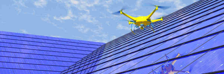 Flugdrohne: Die Technologiebranche erlebt heute eine Zeit rasanten Fortschritts ähnlich wie in den 1990er-Jahren.