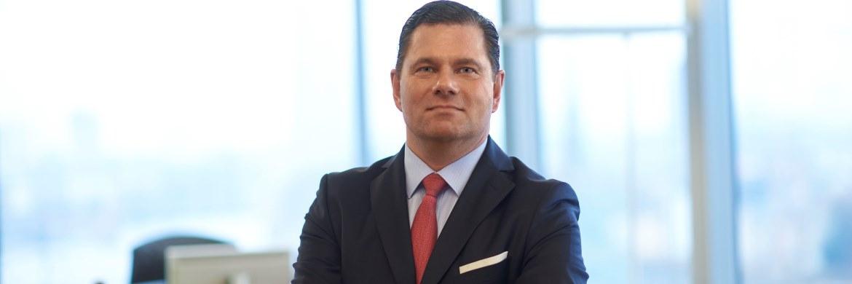 Vanyo Walter, Geschäftsführer von Pictet Asset Management in Deutschland