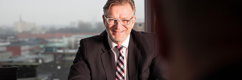 Thomas Böcher, Geschäftsführer der Hamburger Paribus Gruppe
