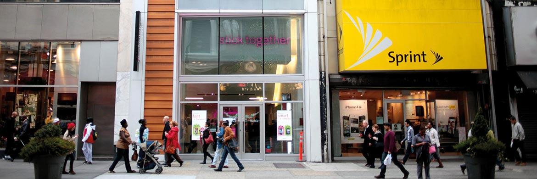 Mobilfunkanbieter in New York: Sprint Nextel zählt derzeit zu den größten Positionen  im Barings Global High Yield Bond Fund|© Bloomberg