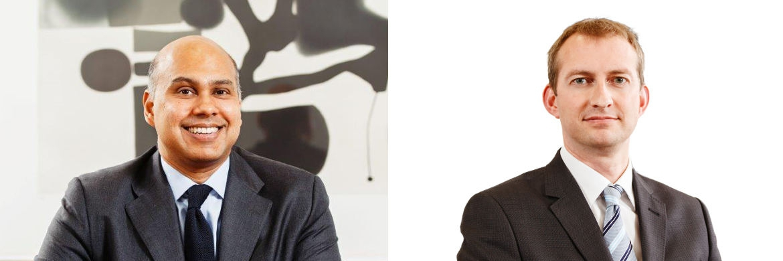 Tawhid Ali und Andrew Birse, Portfolio Manager European Equities beim Asset Manager AllianceBernstein (AB)
