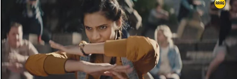 Screenshot des Arag-Werbespots