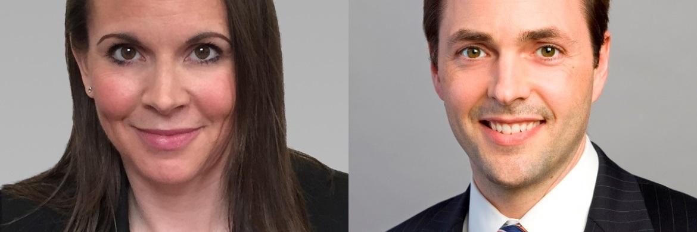 Karen Watkin (l.) und Morgan Harting (r.), beide Multi-Asset Portfolio Manager bei AllianceBernstein
