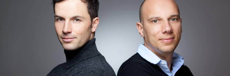 Marc Friedrich und Matthias Weik (v. li.).