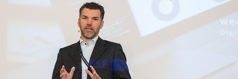Marco Richter,  Mitgründer und Geschäfts  führer Vertrieb des FintechUnternehmens  Wealthpilot|© Axel Jusselt