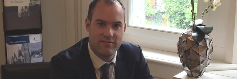 Jeremy Blaser, Portfolio-Manager bei Finanz Konzept in Zürich