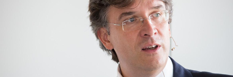 Frank Fischer, Manager des Frankfurter Aktienfonds für Stiftungen|© Christian Scholtysik / Patrick Hipp