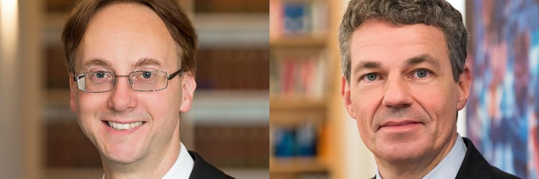 Sascha Alexander Stallbaum und Jürgen Evers (v. li.)