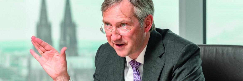 Bert Flossbach, Mitgründer und Chef der Kölner Vermögensverwaltung Flossbach von Storch|© Jürgen Bindrim