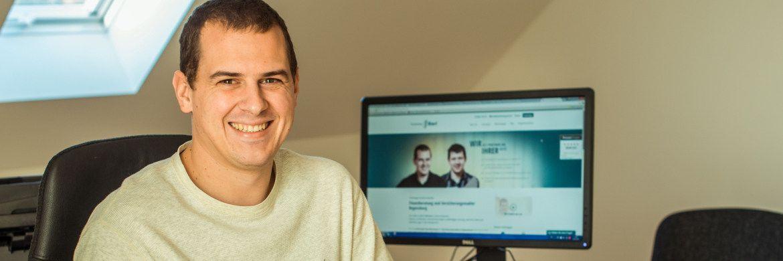 Versicherungsmakler Tobias Bierl