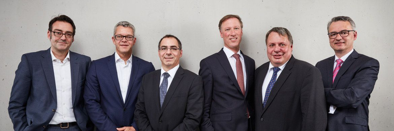 Redakteur Markus Deselares, Karsten Mieth, Stefan Klaile, Andreas Schmidt-von Rhein, Michael Bräuninger, Anselm Gehling (von links)|© Robert Schlossnickel
