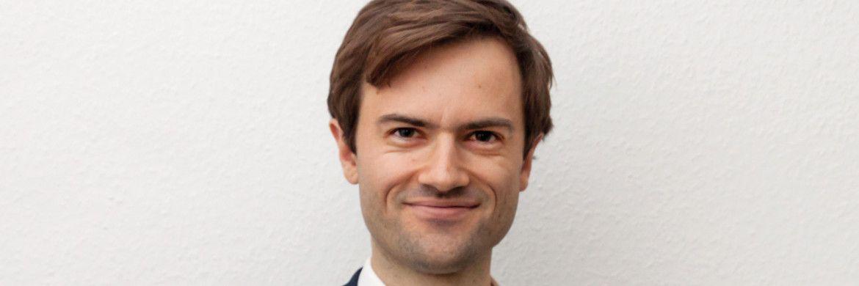 Gemeinsam mit seinem Kompagnon Fabian Leuchtner ist Dimitri Widmann Gründer und Geschäftsführer von Aguja Capital