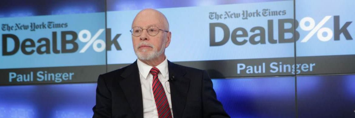 Paul Singer auf einer Podiumsdiskussion: Streitbarer Verfechter demokratischer Institutionen | © Getty Images