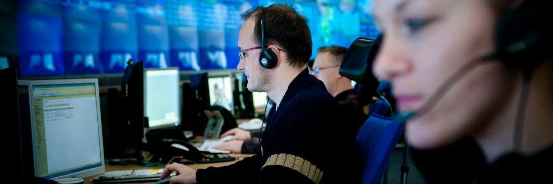 Blick in das Deutsche Rechenzentrum der Telekom AG |© Telekom AG
