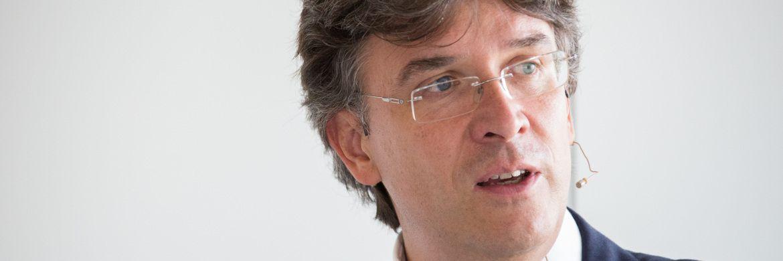 Frank Fischer, Manager des Frankfurter Aktienfonds für Stiftungen