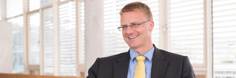 Steffen Merker managt den Fonds LBBW Nachhaltigkeit Aktien bei LBBW Asset Management