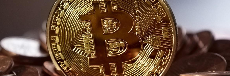 Eine Bitcoin-Münze: Neue Kryptowährungen führen zu tiefgreifenden Veränderungen in der Bankenbranche.|© Pixabay