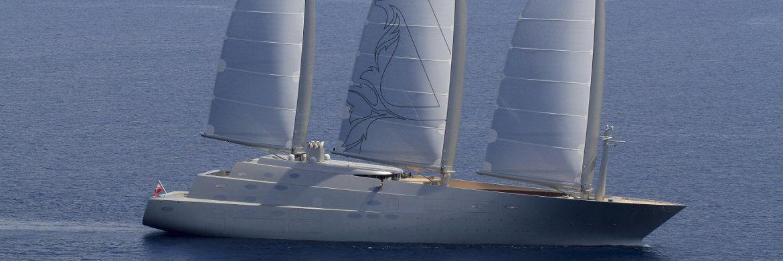 Sailing Yacht A: Der Dreimaster aus Kiel führt mit Abstand das Ranking der größten Luxus-Segler an.|© Peter Seyfferth, TheYachtPhoto.com