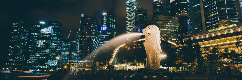Singapurs Wahrzeichen Merlion: Der neue Jupiter-Fonds setzt auf kurzlaufende Anleihen aus den Schwellenländern.|© Pexels
