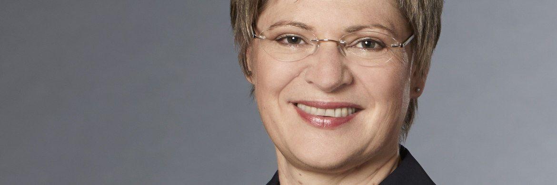 Gundula Roßbach: Die Präsidentin der Deutschen Rentenversicherung Bund spricht sich für Haltelinien bei der gesetzlichen Rente auch für die Jahren nach 2030 aus. |© Deutsche Rentenversicherung Bund