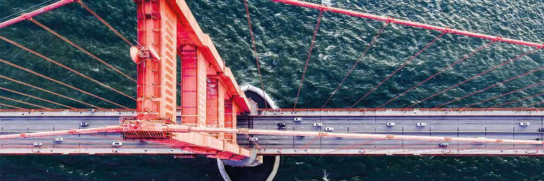 Golden Gate Bridge bei San Francisco: In den USA ist die Altersvorsorge mit Aktien und Fonds viel stärker verbreitet als in Deutschland
