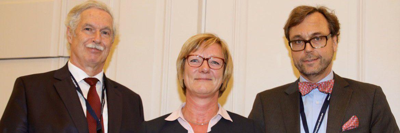 Zum dritten Finanzplaner Forum Südwest, ins Leben gerufen von Otto Lucius (li.) und Guido Küsters, kam auch die baden-württembergische Finanzministerin Edith Sitzmann.