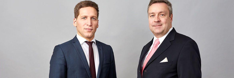 Neuer Loys-Chef Ufuk Boydak (li.) und sein Vorgänger Christoph Bruns: Für Anleger soll sich nichts ändern.|© Loys