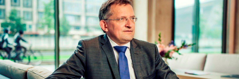 """Robecos Chefvolkswirt Léon Cornelissen: """"Die deutsche Wirtschaft könnte im nächsten Jahr vor Schwierigkeiten stehen, da die Stärke des Euro die Exportchancen beeinträchtigt"""""""