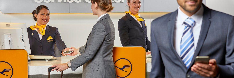 Lufthansa-App: Das mobile Angebot der Fluggesellschaft gilt mit der besten Gesamtbewertung in der Statista-Studie (3,17) als Vorbild für die Service-Apps der Finanzbranche.