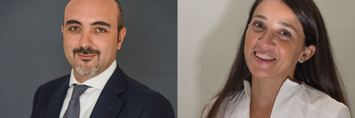 Francesco Martorana (l.) ist neuer Head of Investments, Anna Maria Reforgiato Recupero kommt als Head of Insurance & Liability Driven Investors (LDI) Solutions zu Generali Investments. | © Generali Investments