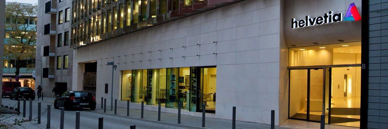 Gebäude der Helvetia in Frankfurt am Main: Der Versicherer hat seine Fondspolice überarbeitet.|© Helvetia