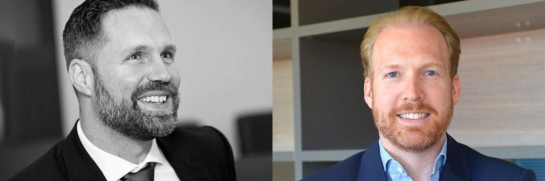 Stephan Volkmann (li.) und Daniel Pierce treten in die Geschäftsführung von Accelerando Associates ein.