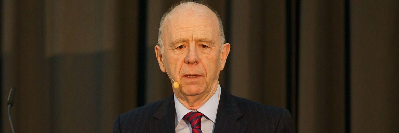 Ex-Bundesarbeits- und sozialminister Walter Riester (SPD): Namensgeber der Rister-Rente.|© Fonds Finanz