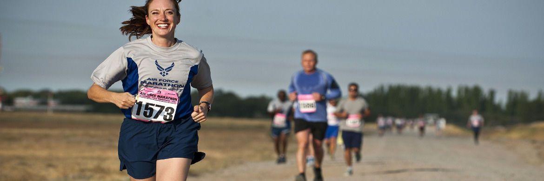 Sportler beim Marathon: Auch an der Börse sind die Qualitäten eines Langstreckenläufers gefragt.|© Pixabay