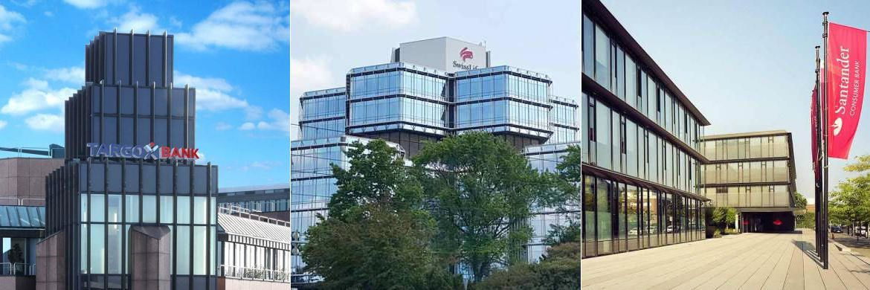 Targobank, Swiss Life Select, Santander: Drei der 10 Service-Champions unter den Filialbanken und Finanzvertrieben|© Targobank, Swiss Life Select, Santander