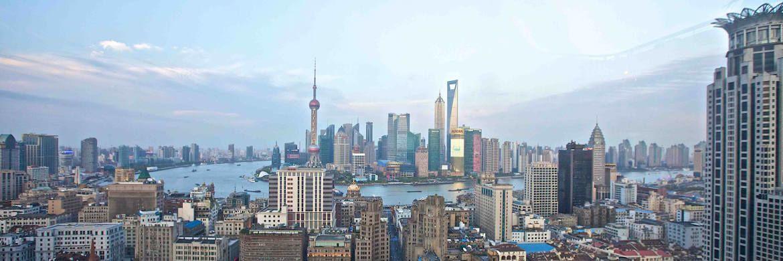 Skyline von Shanghai: Die Experten von Carmignac sind zuversichtlich für Schwellenländer, die Ausnahmen sind Brasilien und Russland.|© Pexels