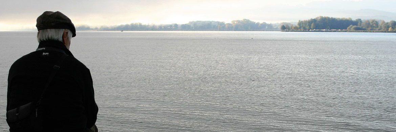 Ein Rentner schaut aufs Meer hinaus: Die Hamburger Privatbank Donner & Reuschel hat ihre Riester-Verträge auf die Konzernmutter Signal Iduna übertragen.