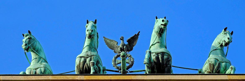 Das Brandenburger Tor in Berlin: Die Hauptstadt der Bundesrepublik hat laut RICS-Umfrage die besten Aussichten in den kommenden zwölf Monaten.|© Pixabay