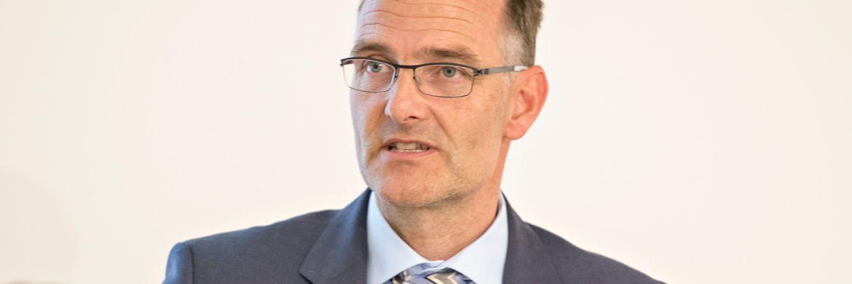 Aufstieg vom Fondsmanager zum Investmentchef und Geschäftsführer von Amundi Deutschland: Thomas Kruse.|© Uwe Noelke