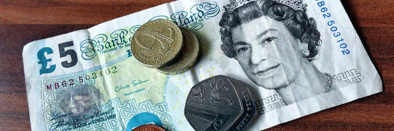 Britische Pfund: Die Bank of England will die zunehmende Geldentwertung bremsen.|© Pexels