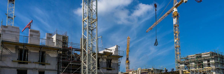 Baustelle: Der Boom bei Projektentwicklungen hält an. Damit bleibt der Bedarf an Mezzanine-Kapital hoch.|© Pixabay